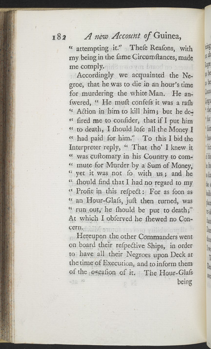 A New Account Of Some Parts Of Guinea & The Slave Trade -Page 182